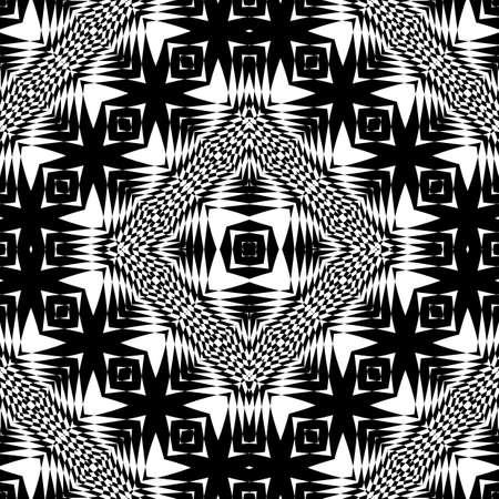 Geometric pattern decorative design template.