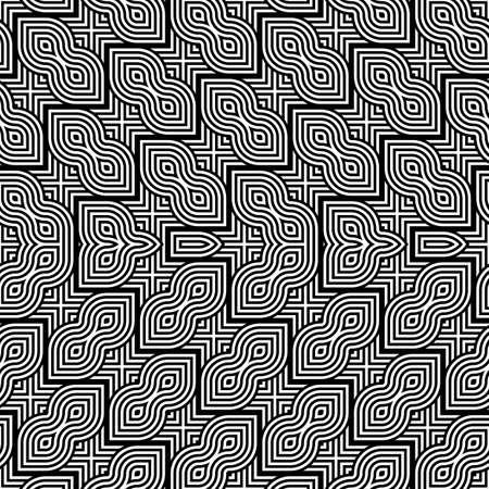 Design monochrome geometric pattern.