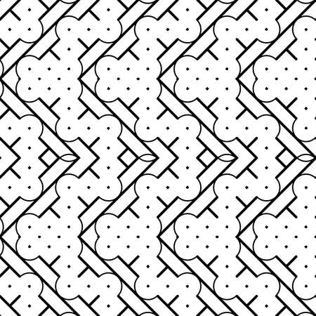 Design monochrome zigzag pattern.