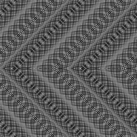 Design monochrome zigzag pattern. Stock Vector - 88243182
