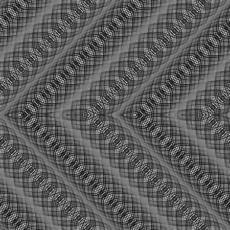 Design monochrome zigzag pattern.
