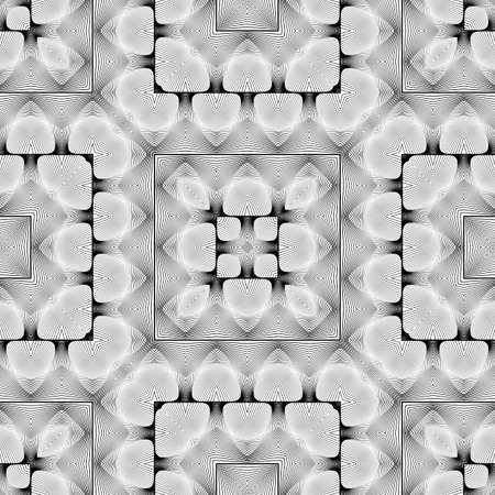 Lacy pattern design. Illustration