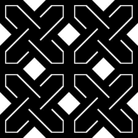 Geometric abstract pattern design.