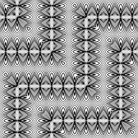 Geometric shape pattern design.