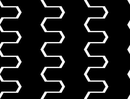 Abstract zigzag pattern design.