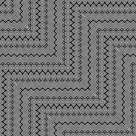 Abstract zigzag pattern Illustration