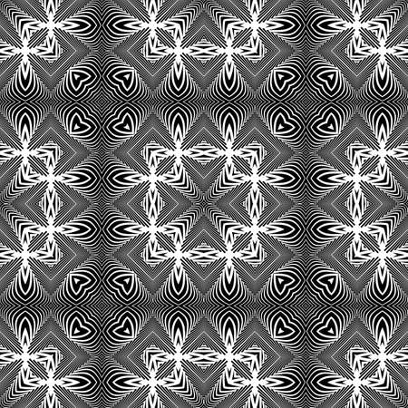 Design seamless decorative pattern abstract background vector art.