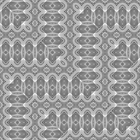 Design seamless zigzag pattern. Abstract decorative background vector art no gradient.
