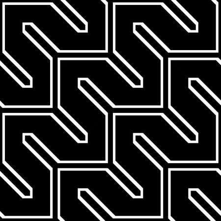 Zigzag pattern design with abstract backdrop