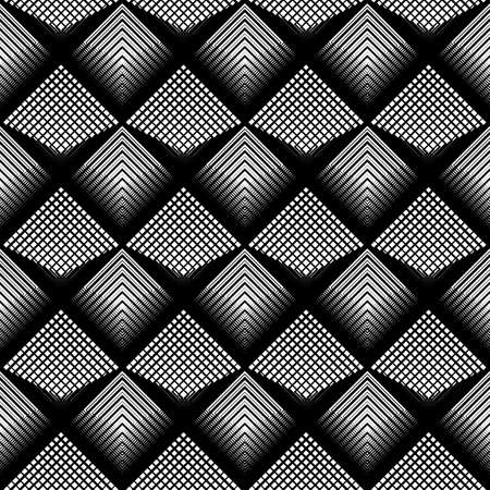 Design seamless monochrome grid pattern.