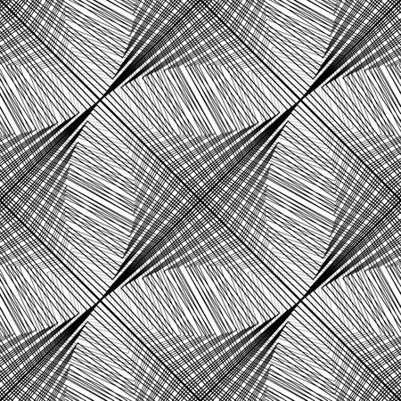 Design seamless monochrome grid pattern. Abstract background. Illustration