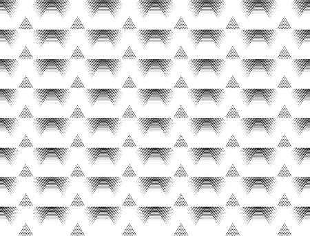 Seamless monochrome grid pattern. Abstract geometric background. Illustration