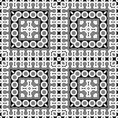Design geometric pattern Abstract illusion backdrop Vector art