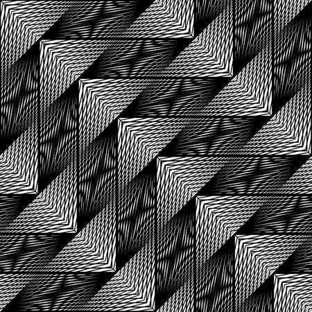Design triangular geometric pattern Abstract illusion backdrop