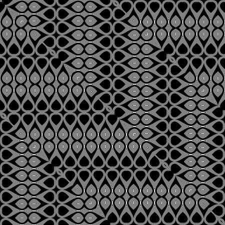 Design seamless monochrome grid pattern. Abstract zigzag background. Vector art. No gradient