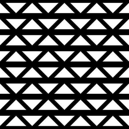 Modello reticolo monocromatico senza cuciture di progettazione. Sfondo astratto. Arte vettoriale