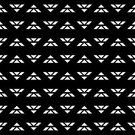 Design seamless monochrome triangle pattern.