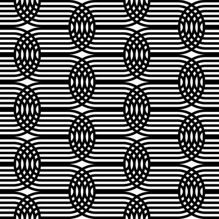 Design seamless monochrome grating pattern.