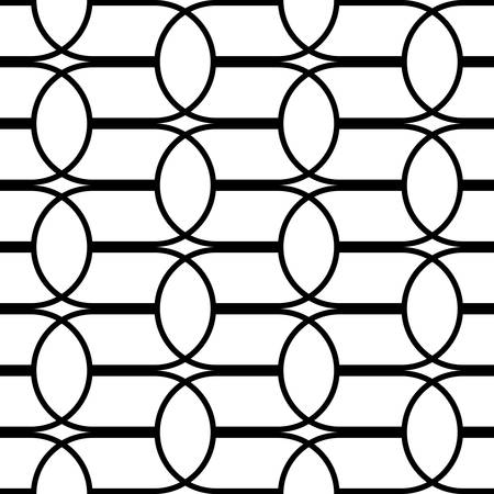 Design seamless monochrome grating pattern. Abstract background. Vector art Stock Vector - 111908549
