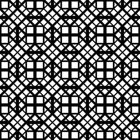 Design seamless monochrome grating pattern. Abstract background. Vector art Illustration