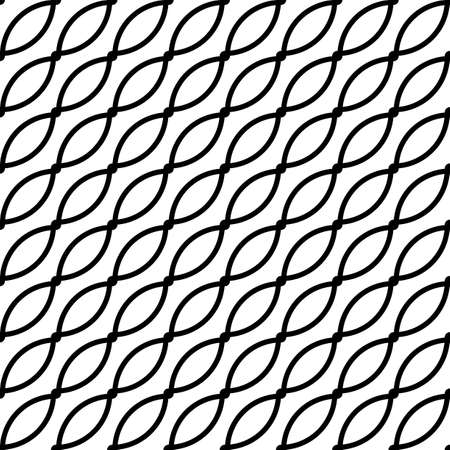 Design seamless monochrome grating pattern. Abstract background. Vector art 向量圖像