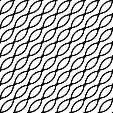 Entwerfen Sie ein nahtloses monochromes Gittermuster. Abstrakter Hintergrund. Vektorgrafiken Vektorgrafik