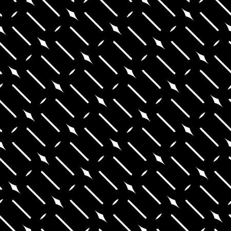 Design seamless monochrome grating pattern. Abstract background. Vector art  イラスト・ベクター素材