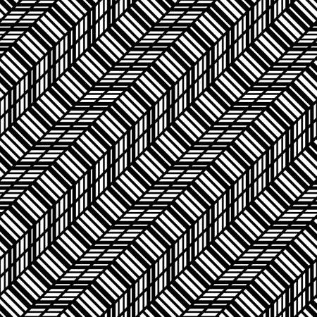 Design seamless monochrome zigzag pattern. Abstract background. Vector art Stock Vector - 127282064