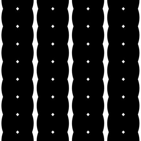 Design seamless monochrome stripe pattern. Abstract background. Vector art