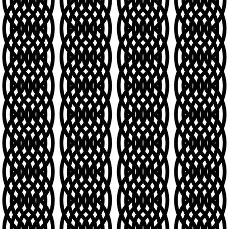 Design seamless monochrome lacy pattern. Abstract background. Vector art