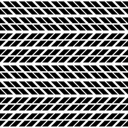 Design seamless monochrome zigzag pattern. Abstract background. Vector art Stock Vector - 114724979
