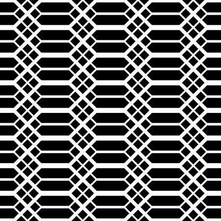 Design seamless monochrome grating pattern. Abstract background. Vector art Illustration