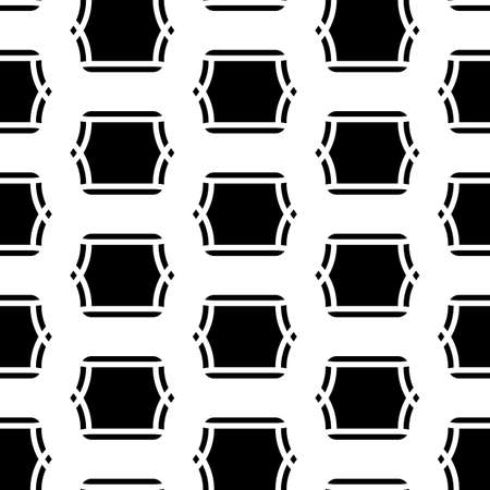 Design seamless monochrome grid pattern. Abstract background. Vector art Illustration