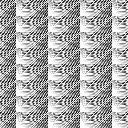 Design seamless monochrome grid pattern. Abstract diagonal background. Vector art. No gradient
