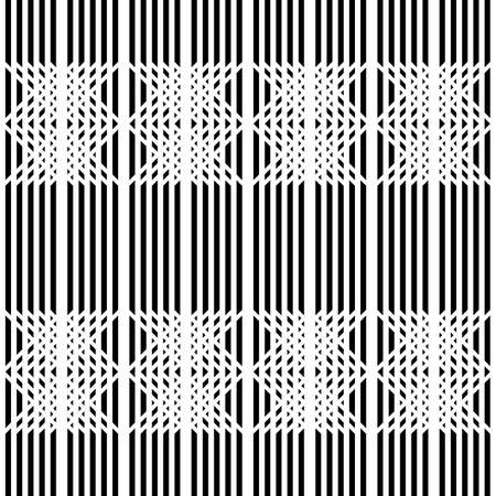 Design seamless monochrome grid pattern. Abstract background. Vector art