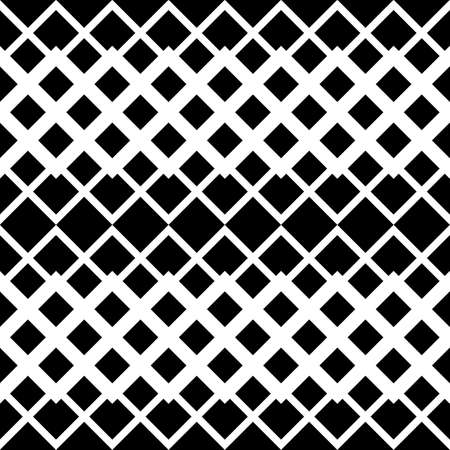 Design seamless monochrome zigzag pattern. Abstract geometric background. Vector art