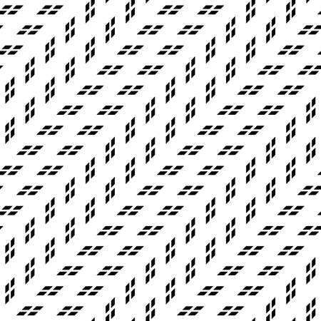 Concevoir un motif géométrique monochrome sans soudure. Abstrait. Art vectoriel