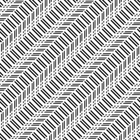 Design seamless monochrome zigzag pattern. Abstract background. Vector art 版權商用圖片 - 122655840