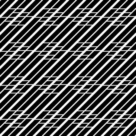 Design seamless monochrome grating pattern. Abstract geometric background. Vector art