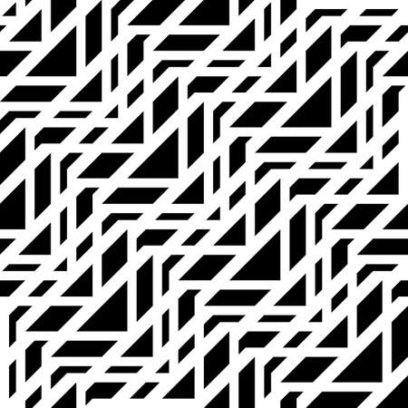 Design seamless monochrome grating pattern. Abstract triangle background. Vector art 일러스트
