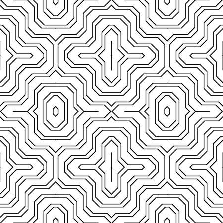 Design seamless monochrome stripy pattern. Abstract grating background. Vector art