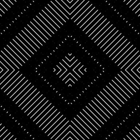 Design seamless geometric pattern. Abstract monochrome lacy background. Vector art Banque d'images - 138378098