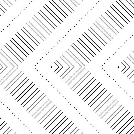 Design seamless zigzag pattern. Abstract monochrome stripy background. Vector art