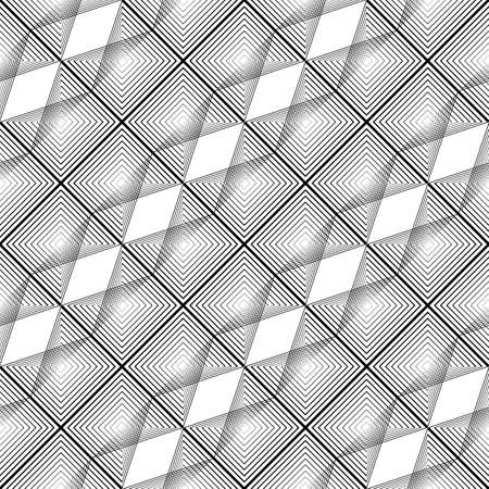 Design seamless grating pattern. Abstract monochrome lacy background.