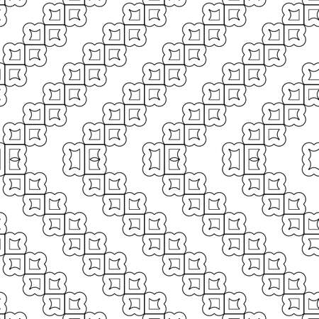 Design seamless monochrome grating zigzag pattern. Abstract decorative background.