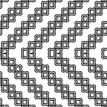Design seamless monochrome grating zigzag pattern. Abstract decorative background
