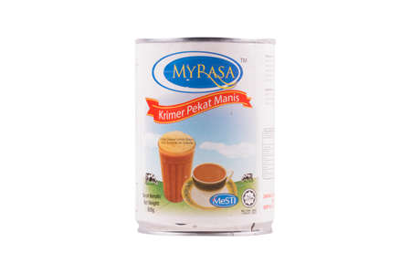Selangor, Malaysia: February 12, 2018 - MYRASA Sweetened Creamer is a Malaysian product focusing on food manufacturing.