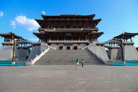 Palace of dynasty tang