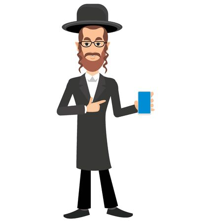 rabbi: Jew with phone