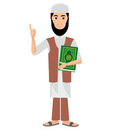 islamic prayer: muslim
